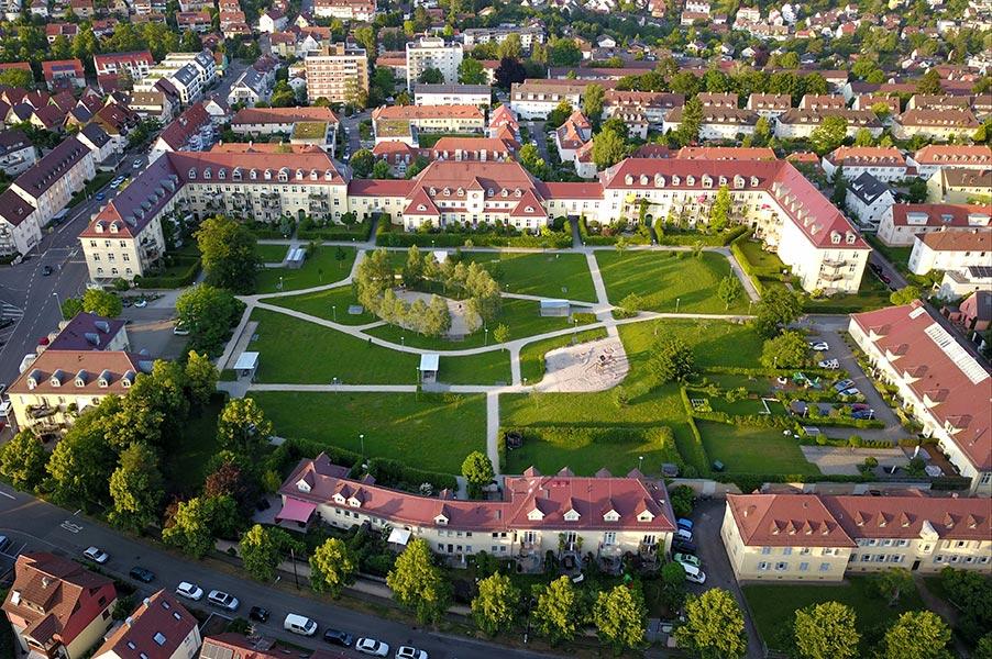 Palmscher Park in Esslingen am Neckar
